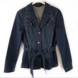 Style & co.NWOT Denim Button Up Wrap Jean Jacket